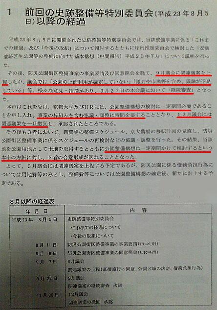 平成24年2月8日史跡整備等特別委員会